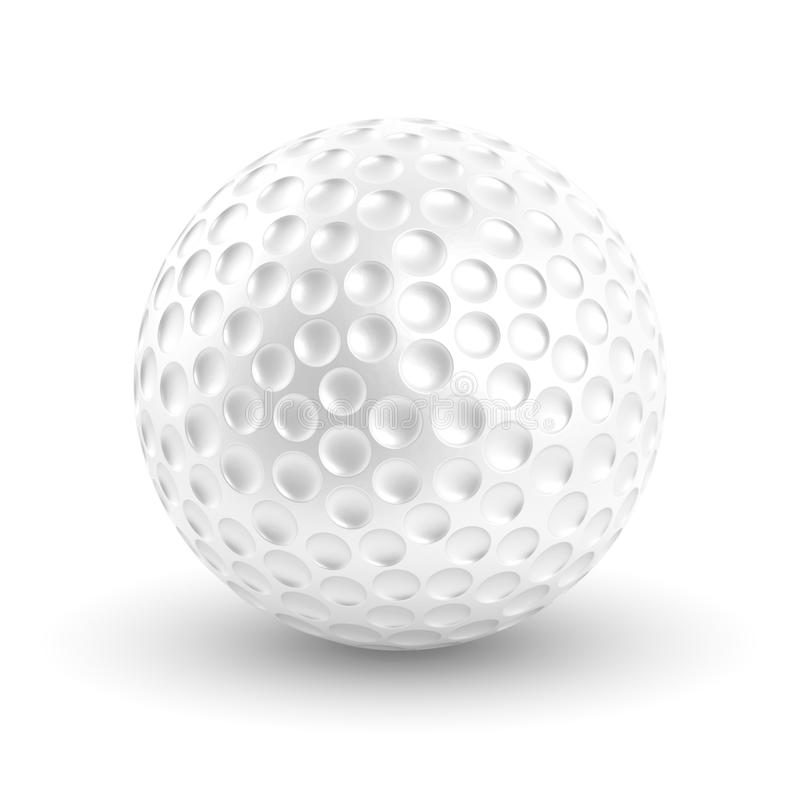 Download Golf Ball stock illustration. Illustration of dimples - 37915845