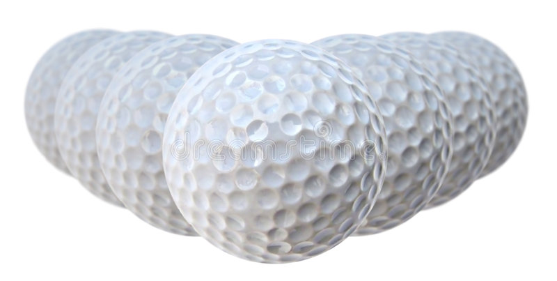 Download Golf balls stock photo. Image of game, lined, golfball - 160610