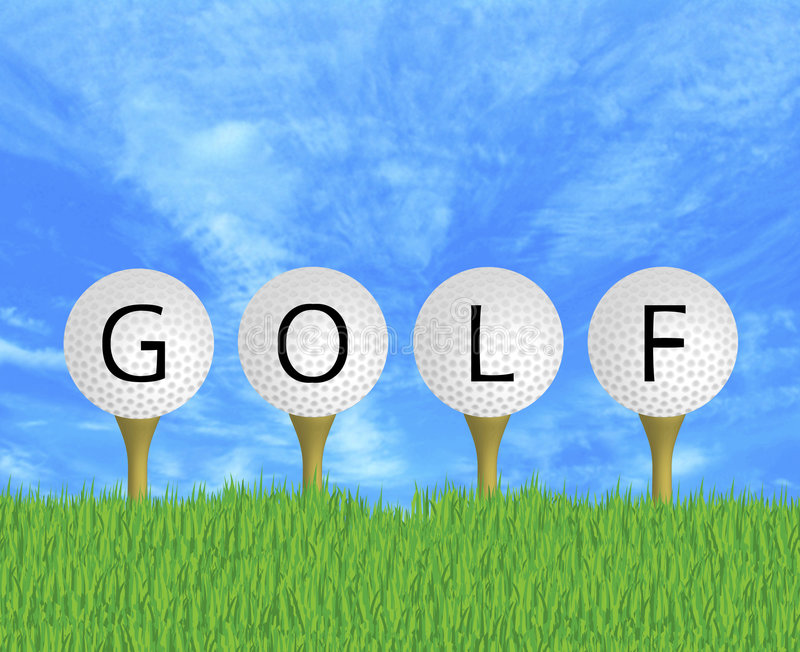 Download Golf Balls Sign Royalty Free Stock Images - Image: 5017199