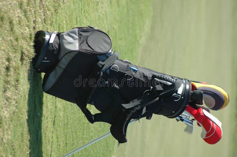 Golf-Beutel lizenzfreies stockfoto
