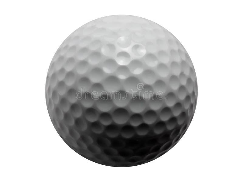 Golf Bola-Aislado fotos de archivo