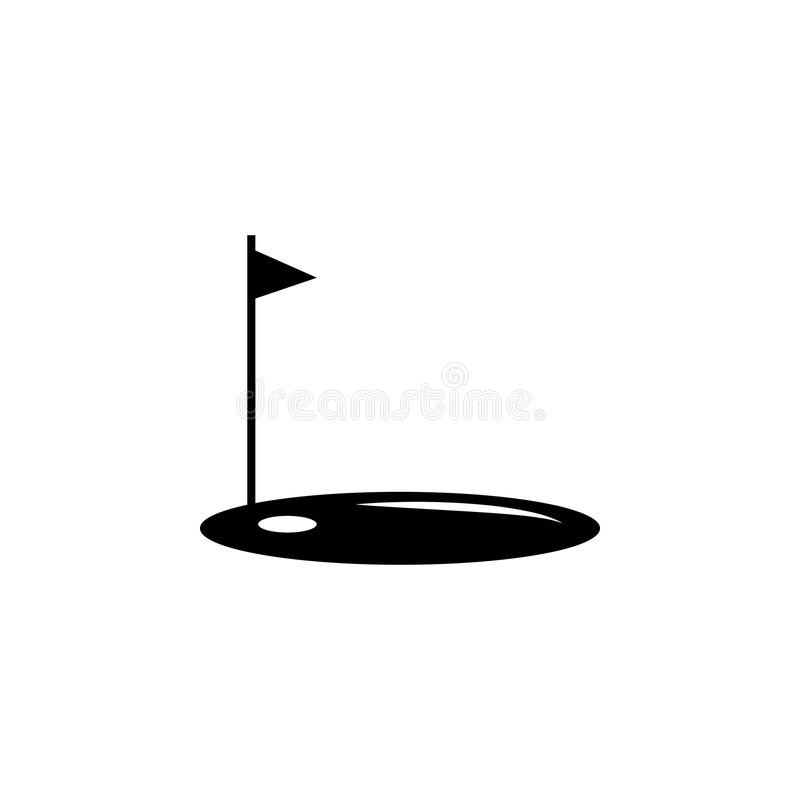 golf bowl icon. Element of sport icon for mobile concept and web apps. Isolated golf bowl icon can be used for web and mobile. Pre royalty free illustration