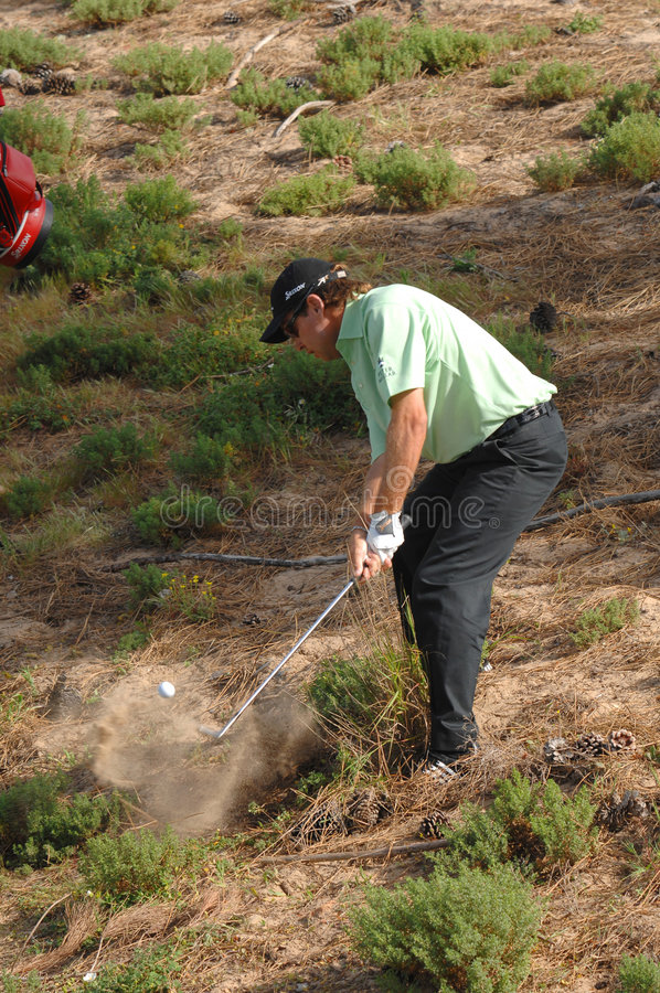 Golf - Brian DAVIS, ENG Redactionele Stock Foto