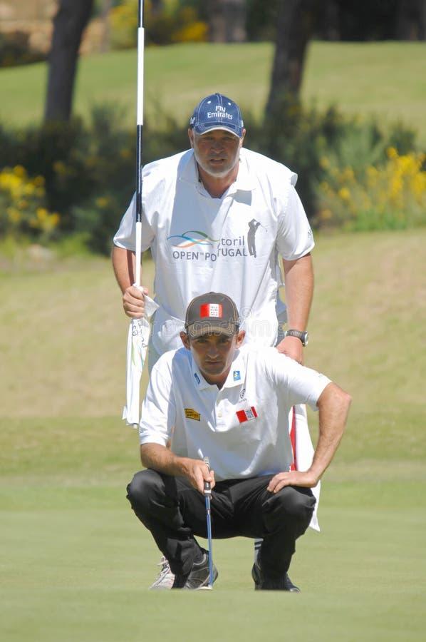 golf brier autu. zdjęcia stock