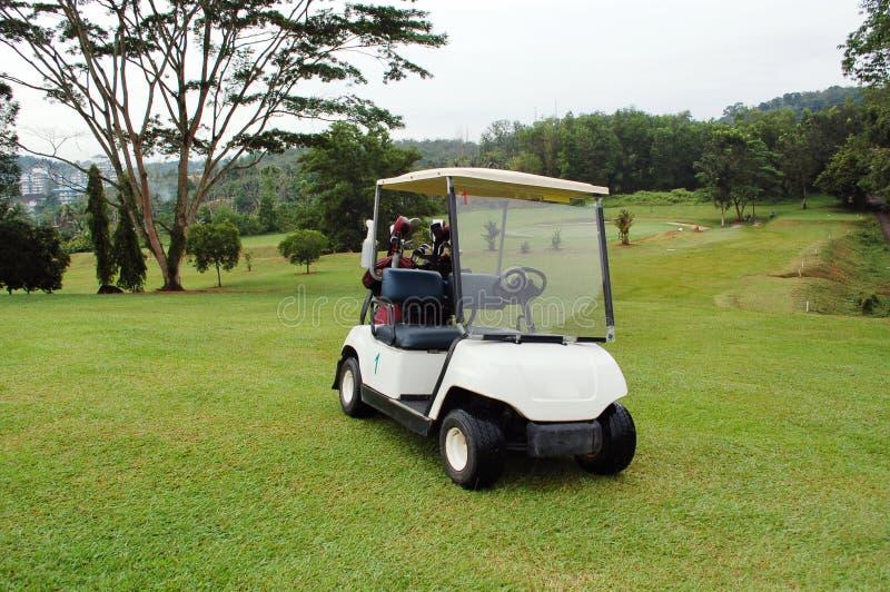 Golf-Buggy stockfoto