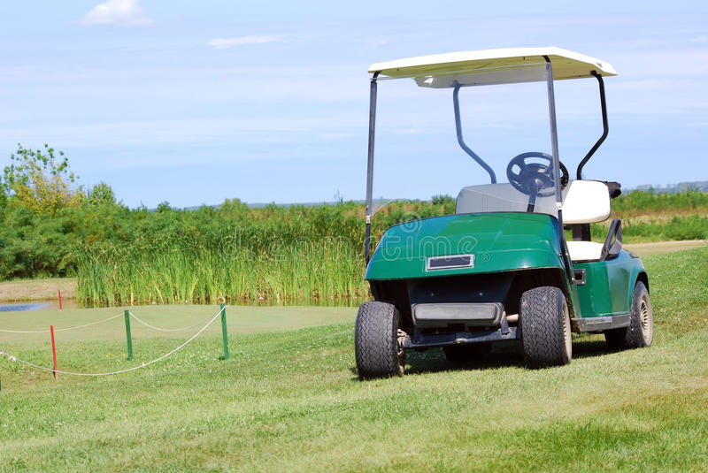 Download Golf buggy stock photo. Image of electric, buggy, little - 17926542