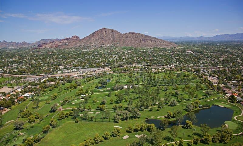 Golf Camelback imagen de archivo libre de regalías