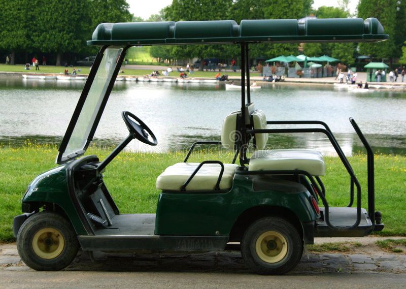 golf cart zdjęcia royalty free