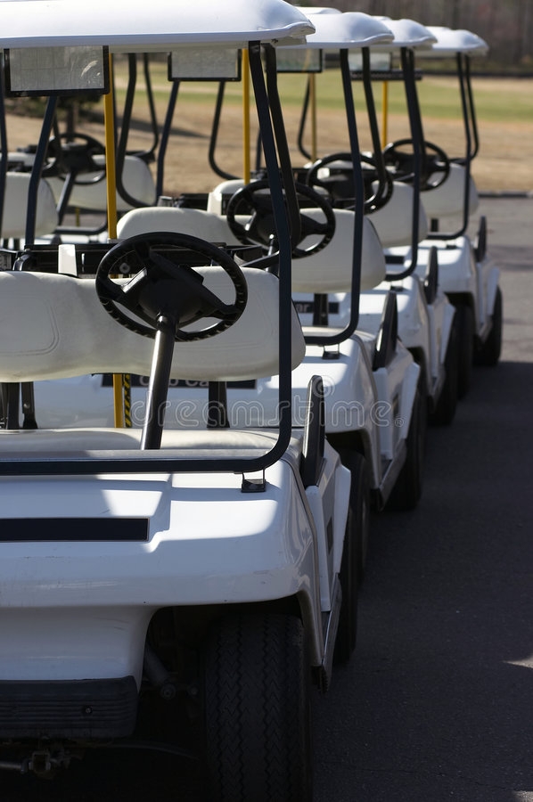 golf cart obrazy royalty free