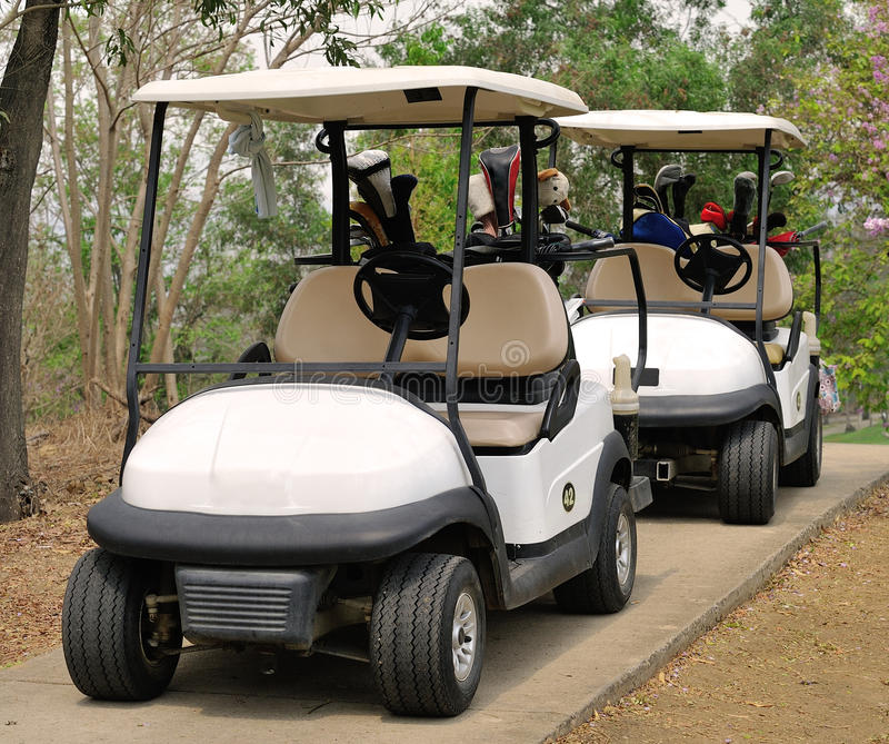 Download Golf cart stock photo. Image of ball, land, golf, beautiful - 39511656