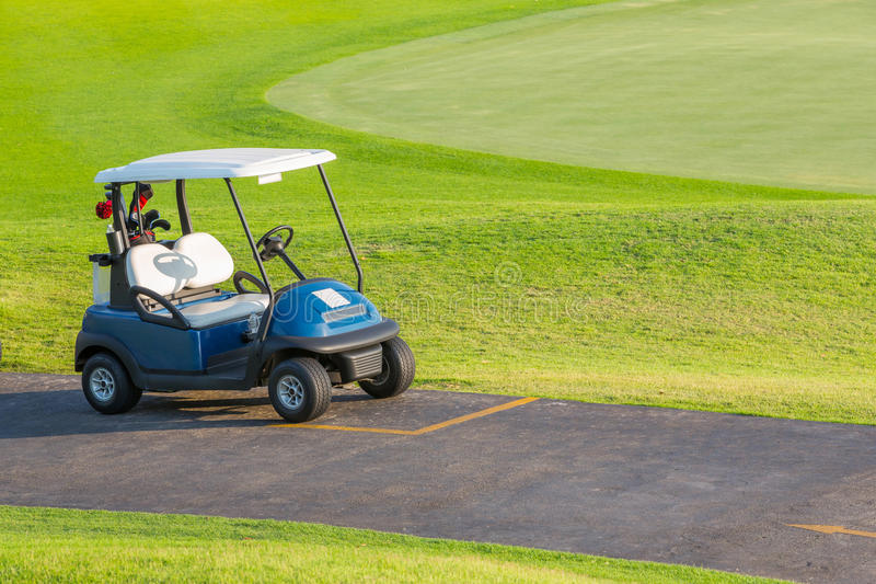 Download Golf cart stock photo. Image of leisure, course, beautiful - 30180542