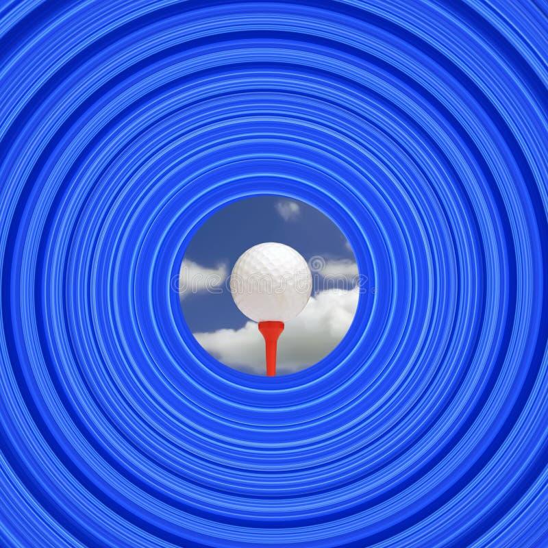 Download Golf challenge stock illustration. Illustration of spiral - 2277465