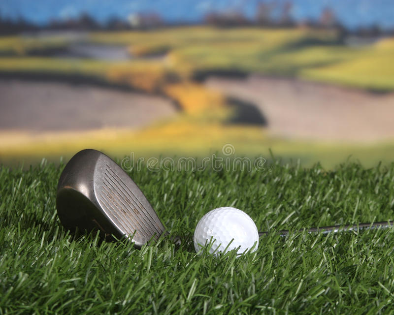 Download Golf club and ball stock image. Image of grass, golfing - 13147819