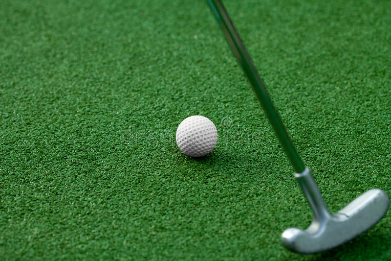 Download Golf club and ball stock image. Image of artificial, close - 25653535