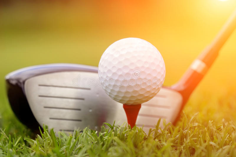 Download Golf Club And Ball In Grass Stock Image - Image: 42231875