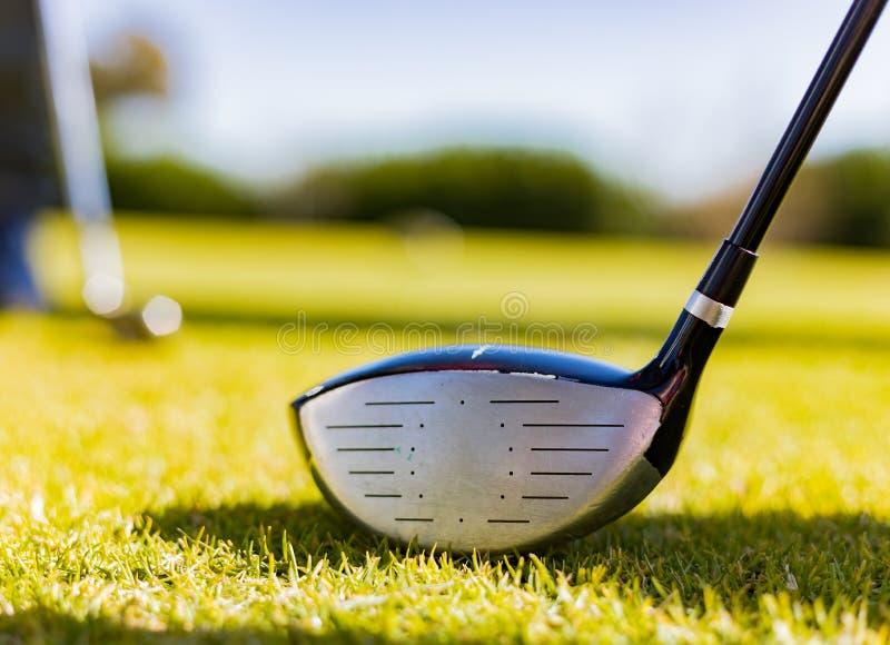 Golf Club on a Golf Course Fairway royalty free stock photo