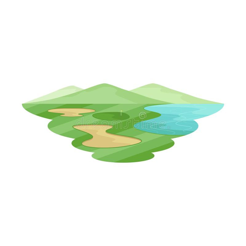 Golf Club Course Landscape stock photo