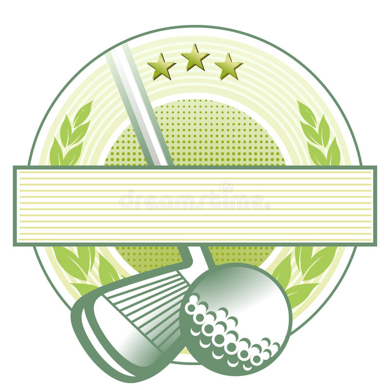 Download Golf club emblem stock vector. Illustration of club, prices - 13130477