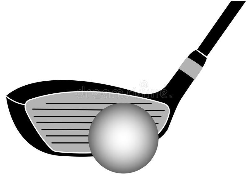 Download Golf Club Iron Vector Illustration Stock Vector - Illustration of background, rough: 8899127
