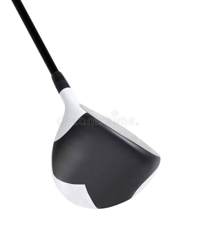 Golf club isolated on white royalty free stock photo
