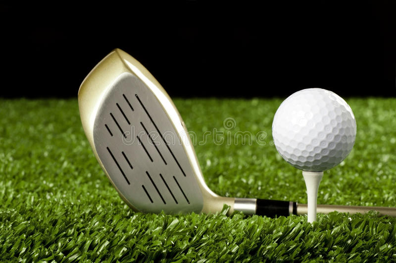 Download Golf Club New With Ball On Tee 1 Stock Photo - Image of game, driver: 19150374