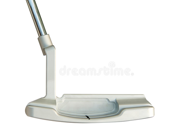 Download Golf Club Putter  On White Background Stock Image - Image: 31971249