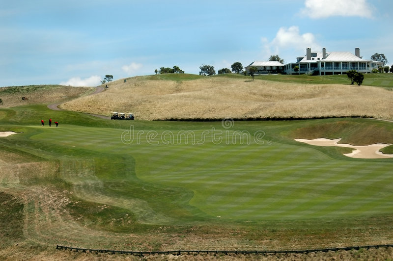 Golf - The Clubhouse royalty free stock image