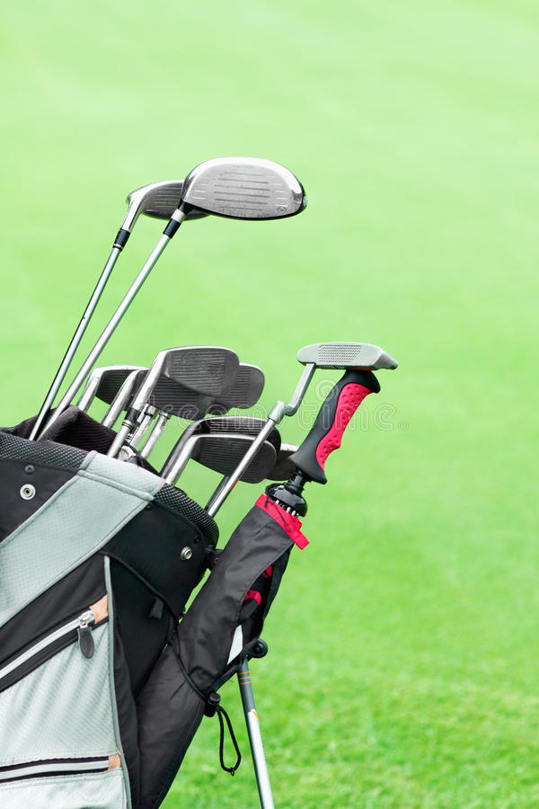 Download Golf clubs stock photo. Image of course, objects, competition - 20339488