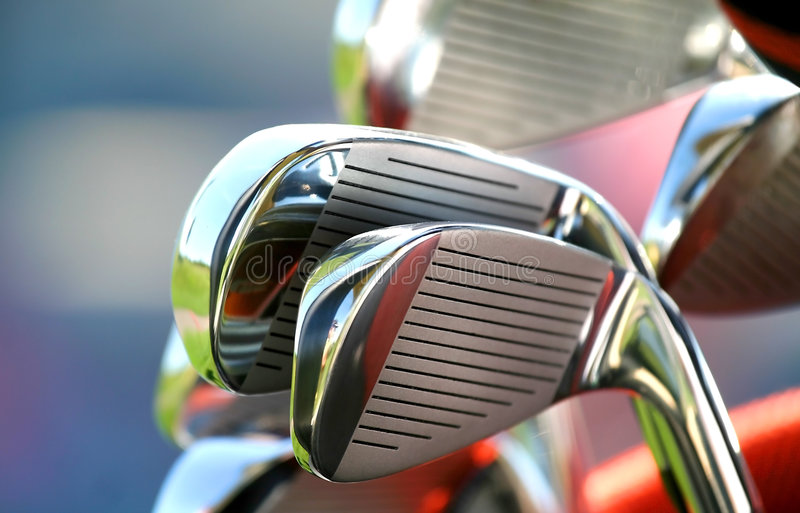 Golf Clubs royalty free stock photography