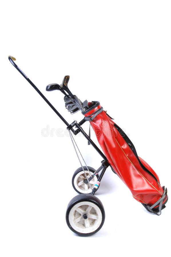 Download Golf Clubs On White Royalty Free Stock Photos - Image: 2300108