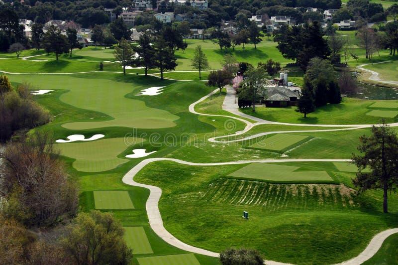 Golf On The Coast Stock Photos
