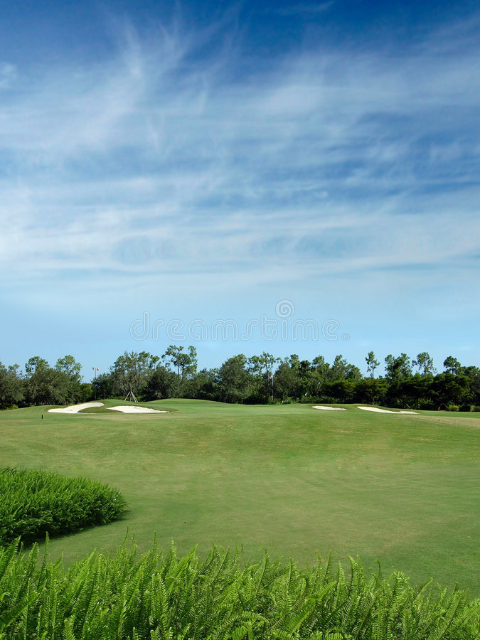 Download Golf Course Royalty Free Stock Images - Image: 1141229