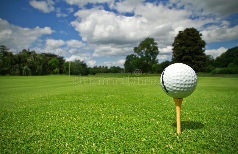 Download Golf course stock photo. Image of outside, golfer, ball - 15243758