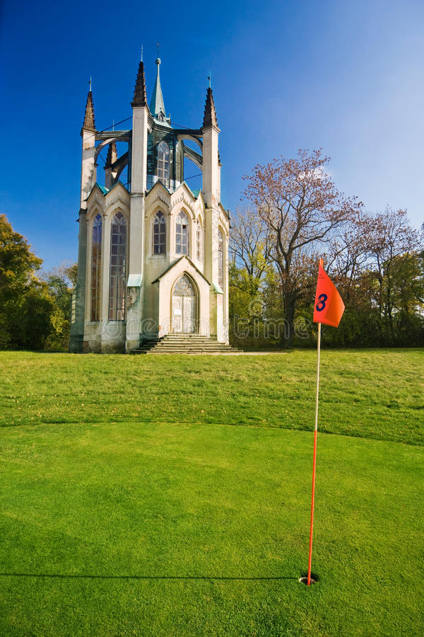 The Golf Course Royalty Free Stock Images