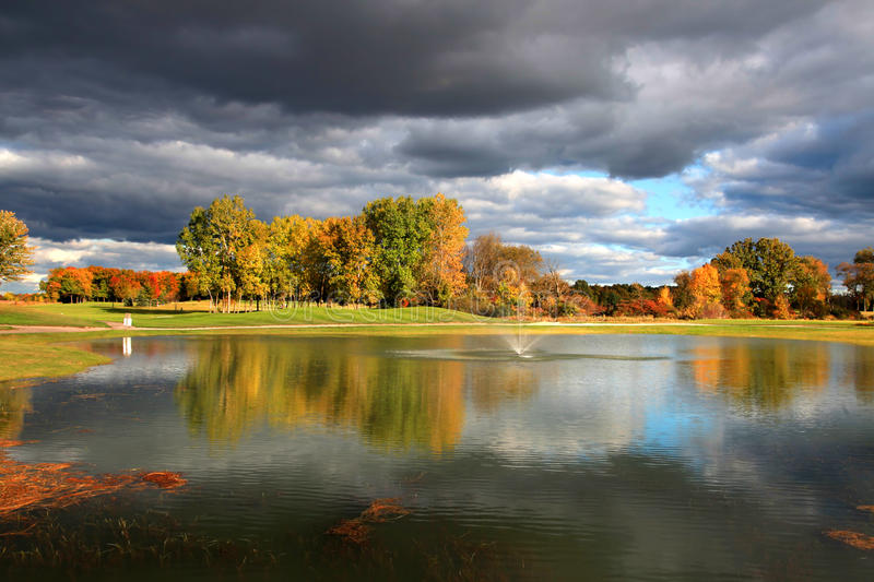 Download Golf course stock photo. Image of colorful, golf, outdoors - 27141260