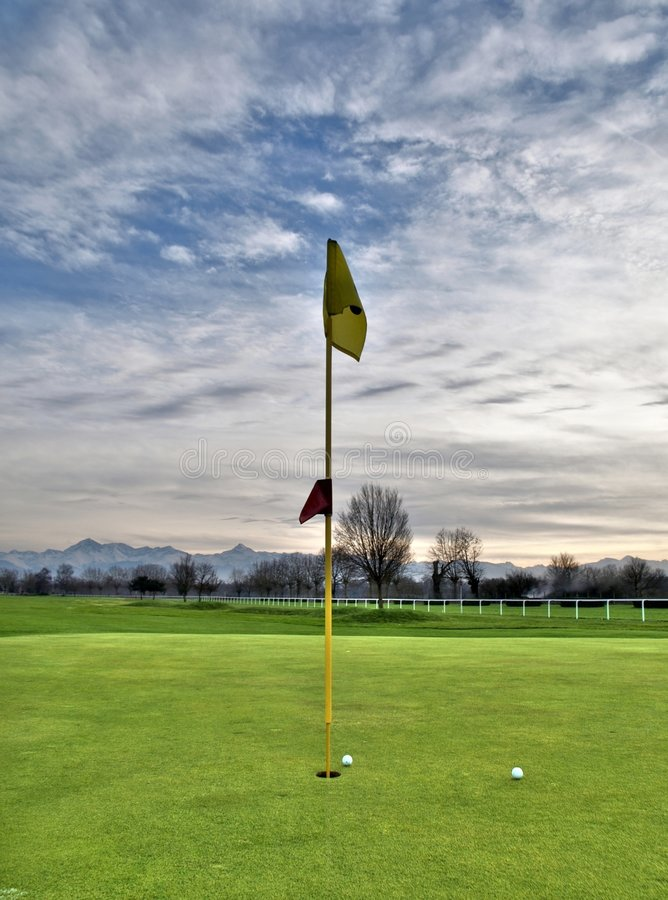 Download Golf course stock image. Image of grass, playing, outdoors - 3898079