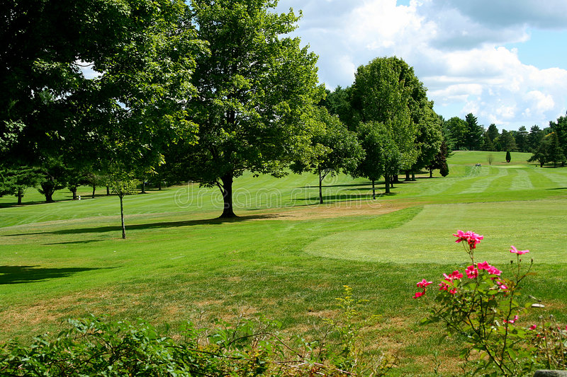 Golf Course 4 royalty free stock photo