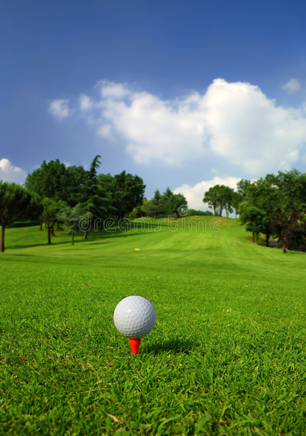 Download Golf Course Royalty Free Stock Image - Image: 5529466