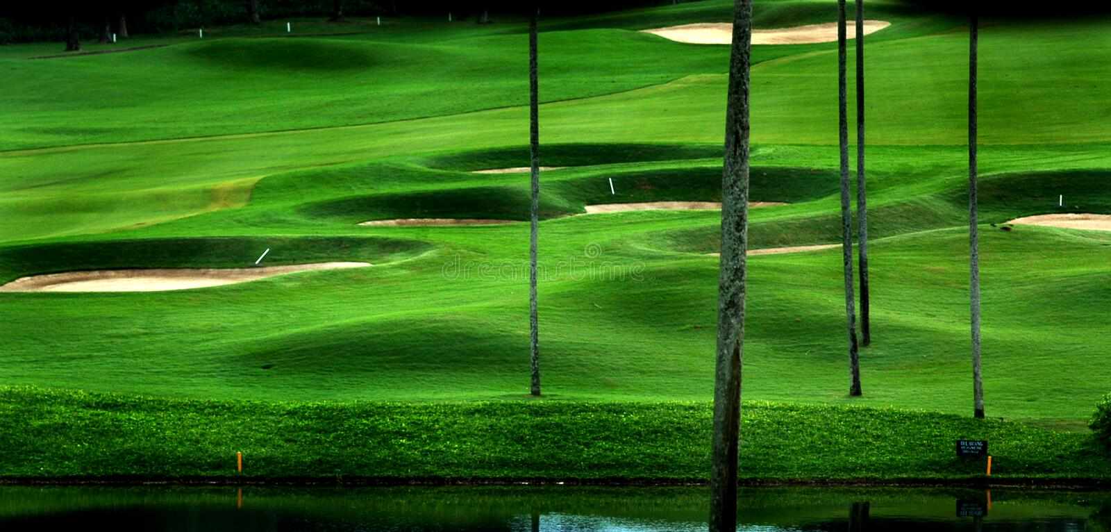 Download Golf Course Royalty Free Stock Images - Image: 9030409