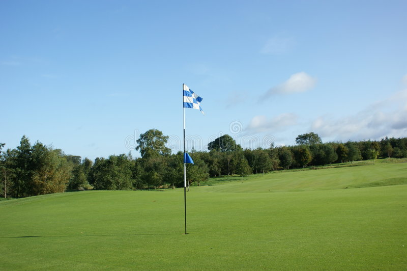 Download Golf Course stock image. Image of difficulty, flag, peaceful - 9165191