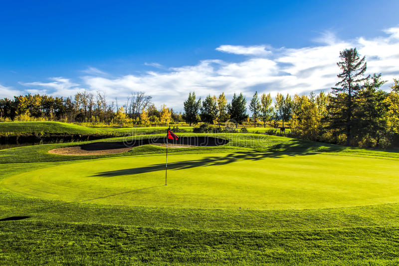 Download Golf Course in Autumn stock photo. Image of autumn, fairway - 33933702