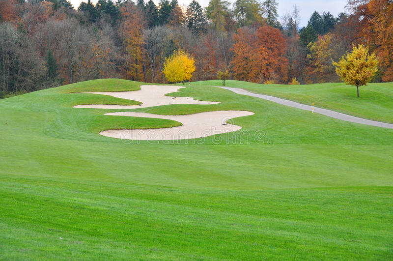 Download Golf course stock photo. Image of green, activity, meadow - 34808876