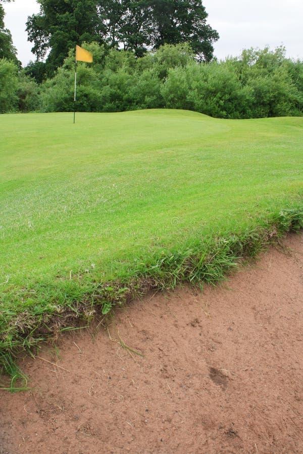 Golf Course bunker stock photos