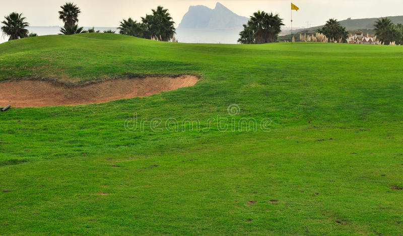 Download Golf course in Cadiz stock photo. Image of sand, traveling - 22103000