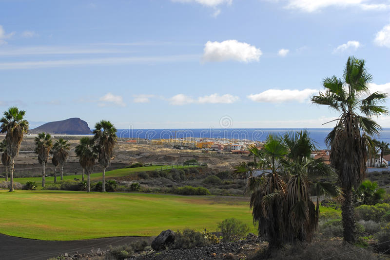 Download Golf Course With Ocean View Stock Photo - Image: 12751338