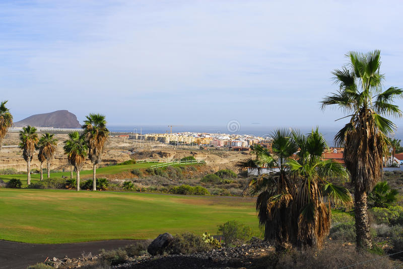 Download Golf Course With Ocean View Stock Photo - Image: 12967916