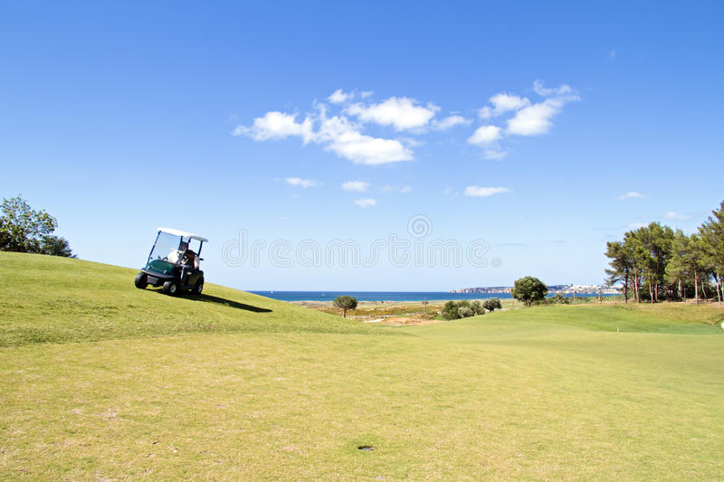Download Golf course in Portugal stock photo. Image of field, outside - 31953708