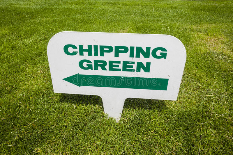 Download Golf Course Signs stock image. Image of detail, instruction - 27323547