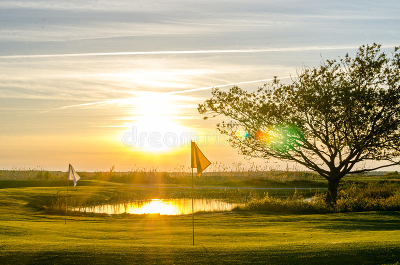 Download Golf course stock photo. Image of natural, playing, first - 40714136