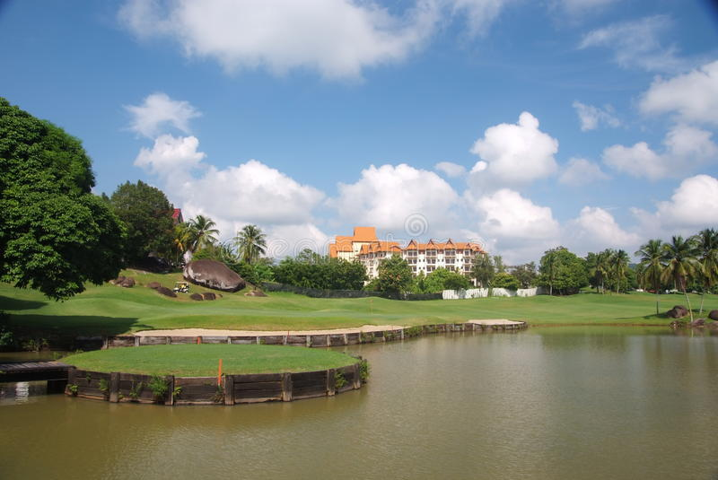 Download Golf course stock photo. Image of tropical, golf, landscape - 33422964